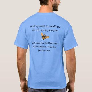 Las abejas no cuidan camiseta
