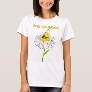 ¡Las abejas son impresionantes! Camiseta