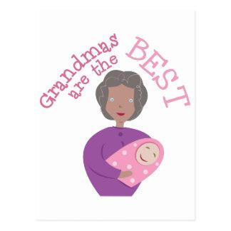 Las abuelas son las mejores postal