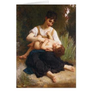 Las alegrías de la maternidad de Guillermo Bougere Tarjeta De Felicitación