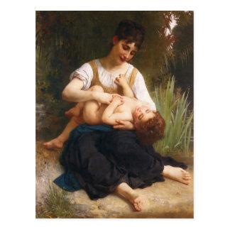Las alegrías de la maternidad de Guillermo Bougere Tarjeta Postal