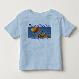 ¡Las amapolas de California, el viaje comienzan Camiseta