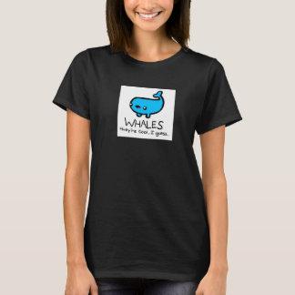 Las ballenas son camisa fresca