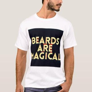 Las barbas son camiseta mágica