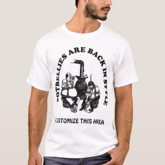 Las barrigas están detrás en el estilo - camiseta