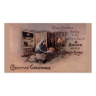 Las bendiciones de las etiquetas del regalo del na tarjetas de visita