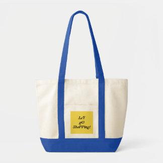 Las bolsas de asas de White&Blue