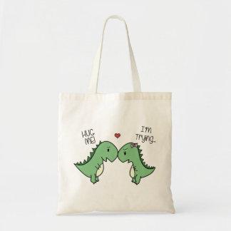 ¡Las bolsas de asas del amor de Dino!