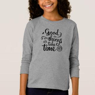 Las buenas cosas inspiradoras toman la camisa con