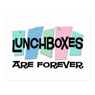 Las cajas del almuerzo son Forever Postal