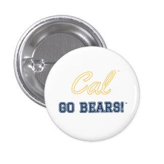 Las calorías van los osos!: Pin de Uc Berkeley Chapa Redonda De 2,5 Cm