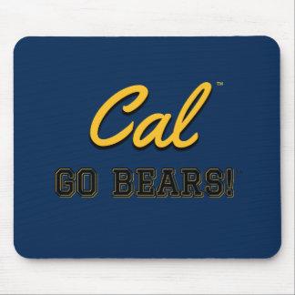 Las calorías van los osos!: Uc Berkeley Mousepad Alfombrilla De Ratón
