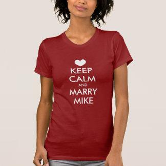 Las camisetas de Bachelorette con guardan tema