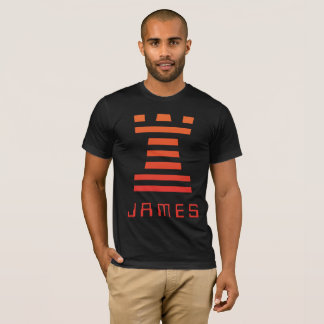 Las camisetas negras de ChessME añaden nombre con