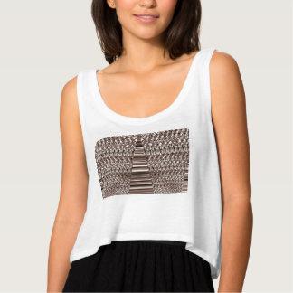Las camisetas sin mangas de las mujeres con diseño