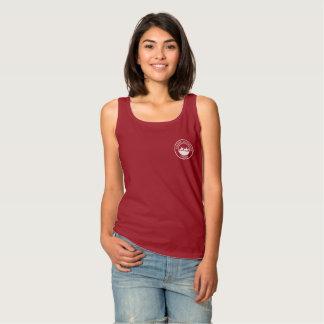 Las camisetas sin mangas de las mujeres con el