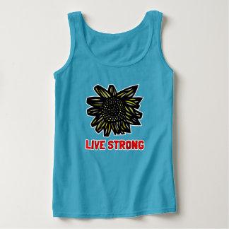 """Las camisetas sin mangas de las mujeres """"fuertes"""""""
