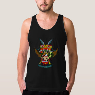 Las camisetas sin mangas Estupendas-Kumite
