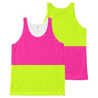 las camisetas sin mangas rosadas de la limonada