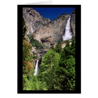 Las cataratas de Yosemite 2002 - Tarjeta