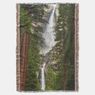 Las cataratas de Yosemite, California Manta