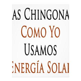 Las Chingonas Como Yo Usamos Energia solar Tarjeton