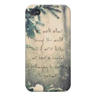 las citas de bronce del jinete iPhone 4 funda