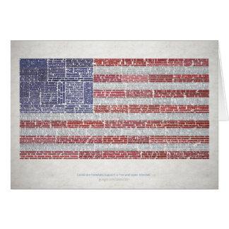 Las citas señalan por medio de una bandera para un felicitacion
