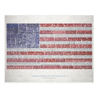 Las citas señalan por medio de una bandera para un postal