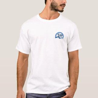 Las colinas para hombre dan vuelta a la camiseta