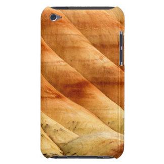 Las colinas pintadas en las camas fósiles 2 del iPod touch Case-Mate protector