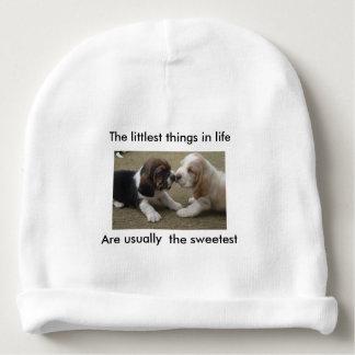 Las cosas más pequeñas de la vida gorrito para bebe