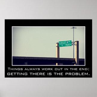 Las cosas se resuelven siempre en el extremo (l) póster