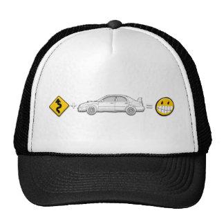 Las curvas, Subaru, igualan el gorra de la diversi