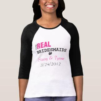 Las damas de honor reales… de la camiseta de