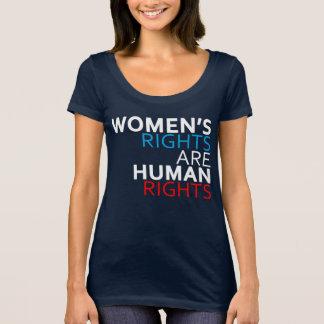 Las derechas de las mujeres son camiseta de la