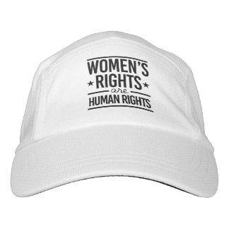 Las derechas de las mujeres son derechos humanos - gorra de alto rendimiento
