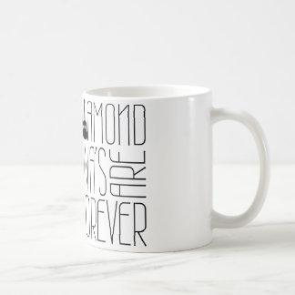 ¡Las divas del diamante son Forever! Taza De Café