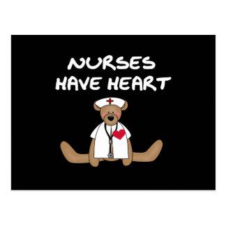 Las enfermeras del oso tienen camisetas y regalos postal