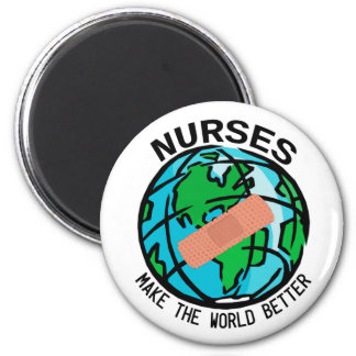 Las enfermeras hacen el mundo un mejor imán