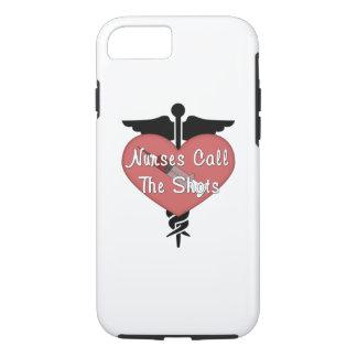 Las enfermeras llaman los tiros funda iPhone 7