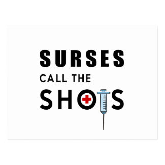 Las enfermeras llaman los tiros postal