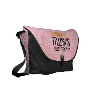 Las enfermeras lo hacen mejor vendaje bolsas messenger