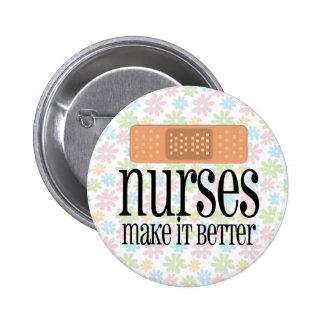 Las enfermeras lo hacen mejor, vendaje chapa redonda de 5 cm