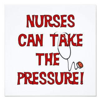 Las enfermeras pueden tomar la presión anuncio personalizado