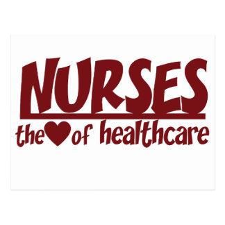 Las enfermeras son el corazón de la atención postal