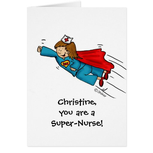 Las enfermeras son héroes - día feliz de las enfer tarjeta