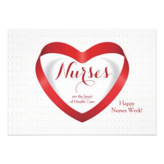Las enfermeras son… tarjeta feliz del día de las e