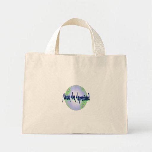 Las enfermeras son tote apreciado bolsas