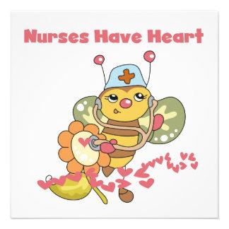 Las enfermeras tienen camisetas y regalos del cora anuncios personalizados